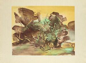 Etching with aquatint - Zao Wou Ki - Zhào Wújí - 赵无极 – 趙無極 - Chinese Art - 1974