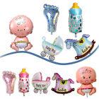 5Pcs/Set Boy Girl Baby Shower Christening Foil Balloons Party Decoration Kids CN