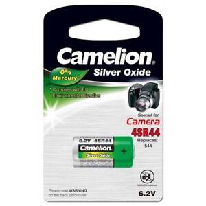 Piles spé photos 4SR44 Bulk PX28 6.2V Camélion, 2 blisters achetés = 1 offert !!