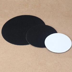 """1PC 5'' 6"""" 7'' Self Adhesive Backed Disc Pad For Hook&Loop Sanding Discs Black"""