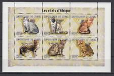Niger - Michel-Nr. 1831-1836 postfrisch/** als Kleinbogen (Katzen / Cats)