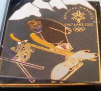 SALT LAKE CITY 2002 Olympic Games MASCOTS All Sports PIN Collectible!