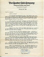 1953 QUAKER OATS - Original Letter To Contest Winner