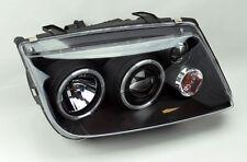 VW Jetta Bora 99-04 MK4 Projector Halo Angel Eye Headlights LED DRL w/ Fog Light