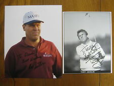 TONY  JACKLIN/HAL  SUTTON(1983 PGA Player of the Year)  Signed   Photos