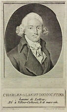 Charles-Albert Demoustier (1760-1801) XVIIIe siècle Ecrivain