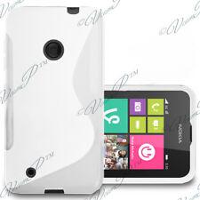 Funda Carcasa TPU silicona Gel S De Motivos BLANCO Nokia Lumia 530/ 530 Dual Sim