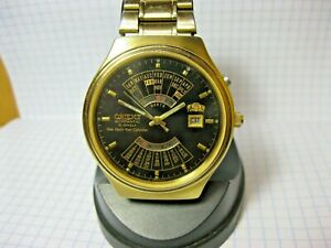 watch orient japanese watch bezel  automatic large orient college