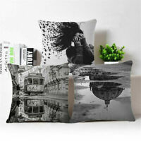 Fashion Lost girl Linen Cotton Throw Pillow Case Cushion Cover Home Sofa Decor
