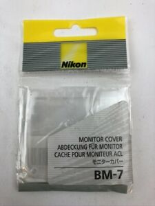 New Nikon BM-7 LCD Monitor Cover for D80 Digital SLR Camera  Free Shipping