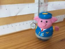 1575 Fisher Price Little People, Spare Figure - Rare Captain Pig