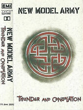 NEW MODEL ARMY THUNDER AND CONSOLATION CASSETTE ALBUM Punk Folk Rock, New Wave