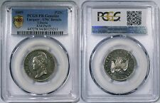 Liberia Pattern Seated Eagle CU-NI 25 Cents 1889 PCGS PROOF UNC. Very scarce.