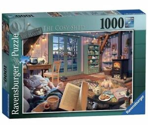 Ravensburger 15175 My Haven No.6 The Cosy Shed 1000 Piece Jigsaw Puzzle