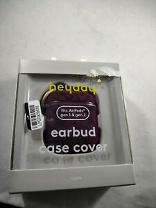 Fits For Compatible With Heyday Burgundy Earbud Case Cover Airpods Gen 1 & Gen 2