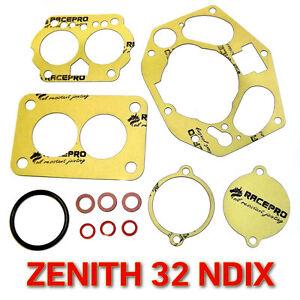 Zenith 32 NDIX Service kit gasket set Porsche 356, Mercedes, BMW Dichtsatz