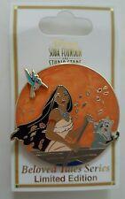 Disney Pin DSF Beloved Tales Pocahontas Flick Meeko LE300 on Card