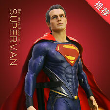 """Crazy Toys Marvel Comic Heroes Superman Figure Statue 12"""" New In Box"""