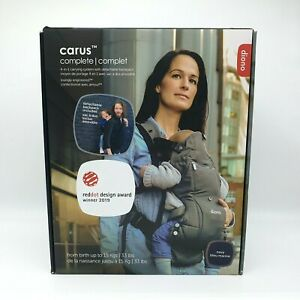 Diono Carus 4-in-1 Baby Carry System with Detachable Backpack Navy Blue Marine.