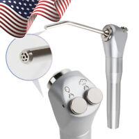 USA Dental Dentist Air Water Spray Triple 3 Way Syringe Handpiece+2 Nozzles Tip