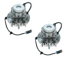 Pair Set of 2 Front Timken Wheel Bearing and Hub Assies Kit for Chevy GMC RWD