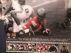 JT Barrett signed Ohio State Buckeyes 11x14 It Was A 1st Down Harbaugh Proof COA