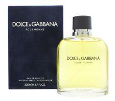 DOLCE & GABBANA POUR HOMME EAU DE TOILETTE EDT 200ML SPRAY - MEN'S FOR HIM. NEW