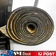 24Sqft SUV Van Sound Deadener Mat 10mm Heat Barrier Engine Road Noise Insulation