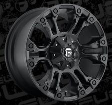 Fuel Vapor D560 20x9 8x180 ET20mm Matte Black Wheels Rims (Set of 4)