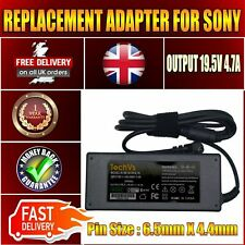 NEW SONY VAIO VGN-SZ330P/B 90W REPLACEMENT TECHVS LAPTOP AC ADAPTER CHARGER