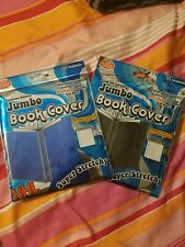 Premium Edition Jumbo Super Stretchy Book Cover - Lot of 2