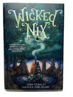 NEW Wicked Nix by Lena Coakley (English) Hardcover Book FREE SHIPPING