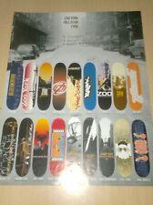 catalog vintage skateboard zoo york  2000?  ............F