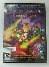 Chaos League Sudden Death + Chaos League (PC CD) USED, Free US First Class Shipp