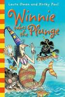 Winnie Takes the Plunge. Laura Owen and Korky Paul (Winnie the Witch)-ExLibrary