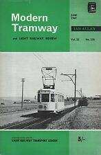 MODERN TRAMWAY No.378(June 1969) -  BELGIUM - TRANSPORT IN LEEDS - SWISS VICINAL