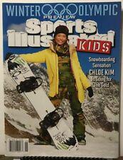 Sports Illustrated Kids Winter Olympics Preview Jan/Feb 2018 FREE SHIPPING JB
