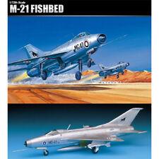 Academy 1/72 MIG-21 Fishbed 12442 Aircraft Plastic Model Kit