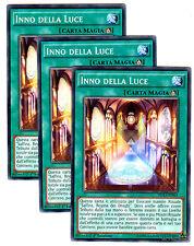 set 3X INNO DELLA LUCE DUEA-IT063 Comune in Italiano YUGIOH