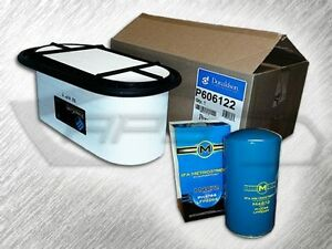 7.3L TURBO DIESEL HEAVY DUTY OVAL AIR FILTER & 1 OIL FILTER - REPLACES FA1757