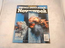 NEWSWEEK EXTRA EDITION MAGAZINE - AMERICA UNDER ATTACK 9-11-2001