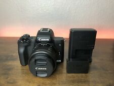 Canon M50 with 15-45mm Lens