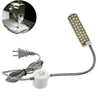 30 LED 110-220V Nähmaschine Lampe Leuchte Licht Magnetisch Flexibel 130cm Kabel