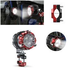 Motorcycle Spotlight LED Fog Light Lamp Bulb 30W 6000K w/54mm Base Pressure Code