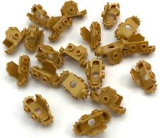 Lego 20 New Pearl Gold Minifigure Armor Breastplate Shoulder Pads Front Stud