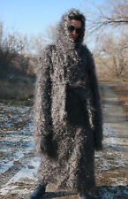 Coat Cardigan SUPER LONG SLEEVE 100% Goat Down Mohair J. Rodas Knit to order
