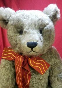 "Lynda Williams ""Smokey"" artist 25"" teddy bear mohair Hampton Bears OOAK"