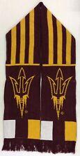 NCAA Arizona State Sun Devils Adidas Winter Knit Fringe Scarf Style # S619Z NEW!