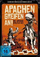 Apachen greifen an - Spielfilm Box ( John Wayne Audie Murphy [FSK16] (3 DVDs)