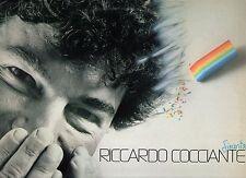 RICCARDO COCCIANTE disco LP 33 giri SINCERITA stampa ITALIANA 1983 made in ITALY